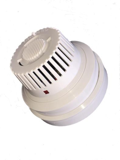 Battery Operated Smoke Detector Including Pet-PCB Wireless TX