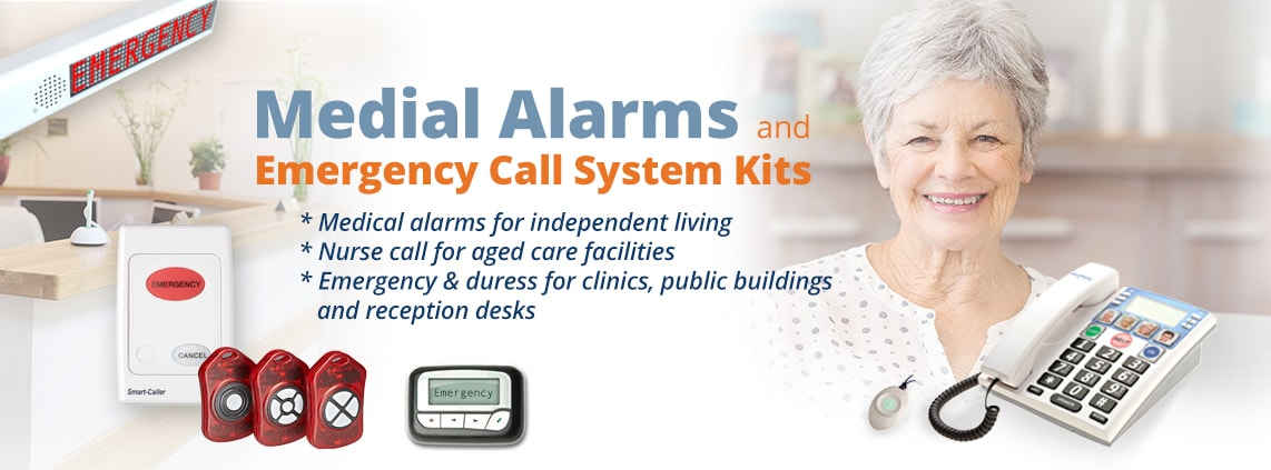 Medical Alarms Emergency Call System Kits