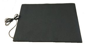 Half sized floor mat