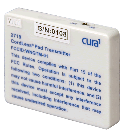 wireless pad transmitter