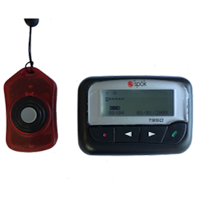 Pendant To Pager Kit Medical Alarm For Home Care And