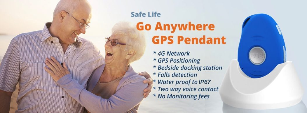 Safe-Life Go Anywhere GPS Pendant