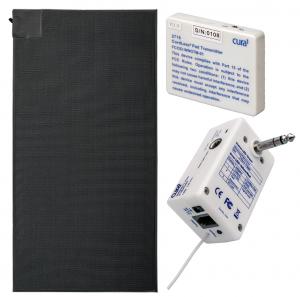 Cura1 Cordless Floor Sensor Mat Kit - With Multiport Receiver