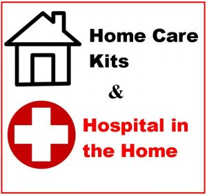 Home Care Kits - Including Hospital in the Home Range