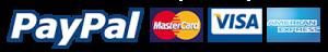 Payment options - paypal -visa - mastercard - amercian express